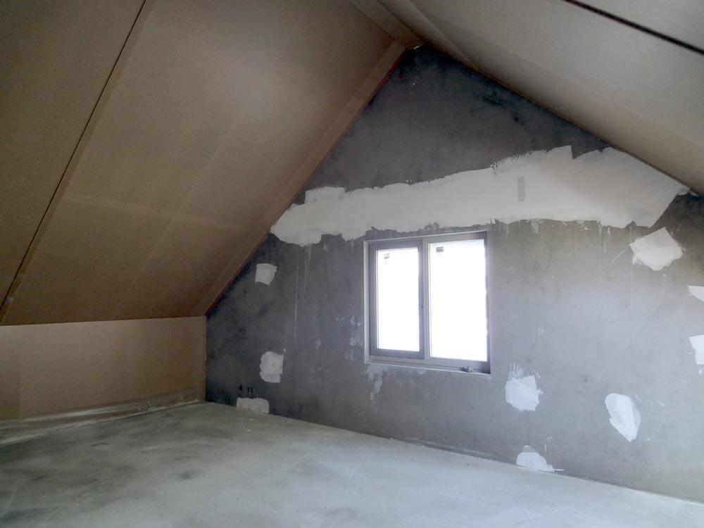 nieuwbouwhuis, zolder