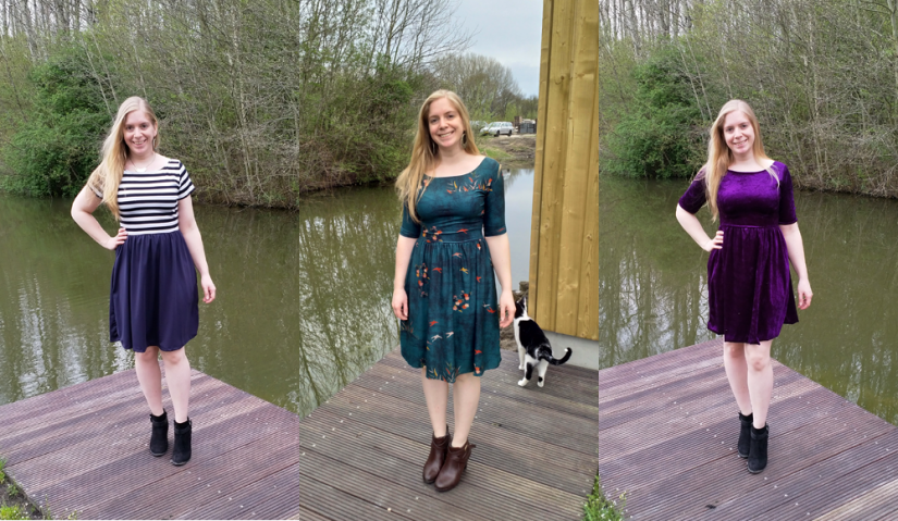 Moneta-jurkje: drie verschillende versies