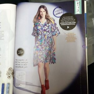 Knipmode augustus 2018 jurk Janice