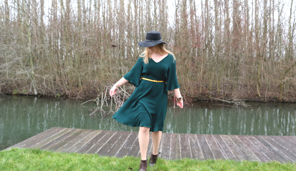 Knipmode Janice jurk
