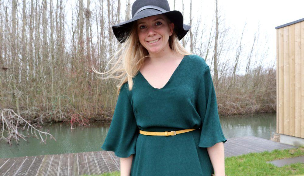 Knipmode augustus 2018 Janice jurk