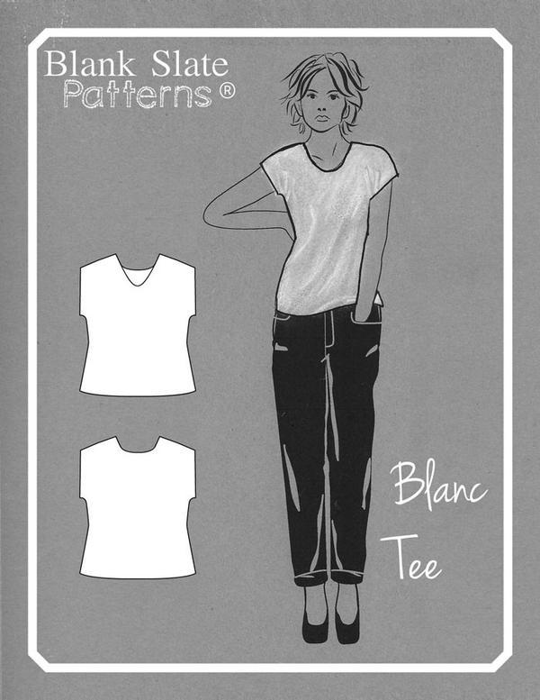 Blank Slate Patterns - Blank t-shirt