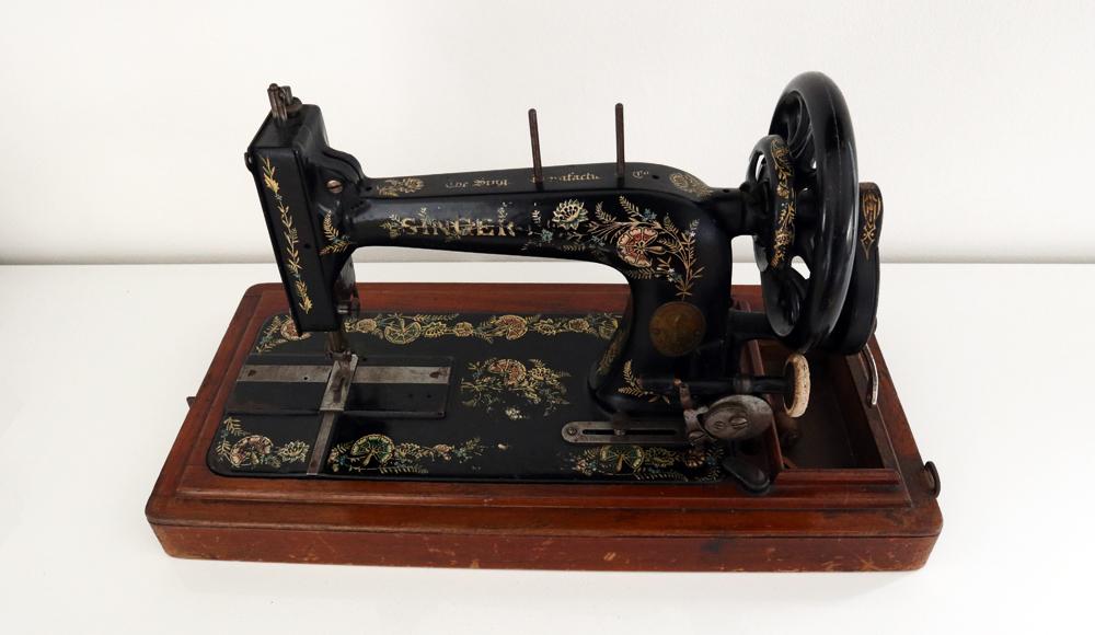 Mijn Antieke Singer Naaimachine Uit 1905 Karinkay