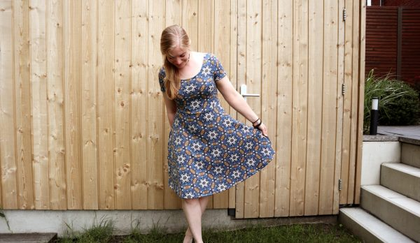 Rosie dress Rad Patterns