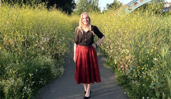 Megan Nielsen Tania culottes View C
