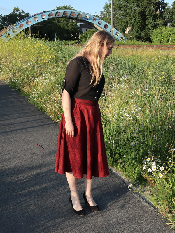 Rode culottes
