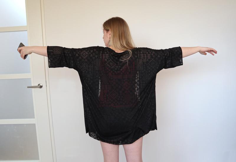 Kimono zelfgemaakt