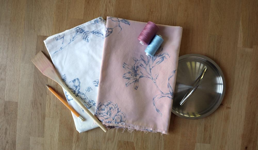 Textiel verven met plantaardige materialen