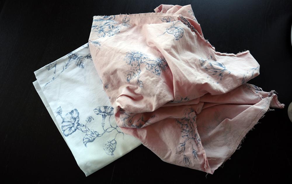 Textiel verven met bietjes